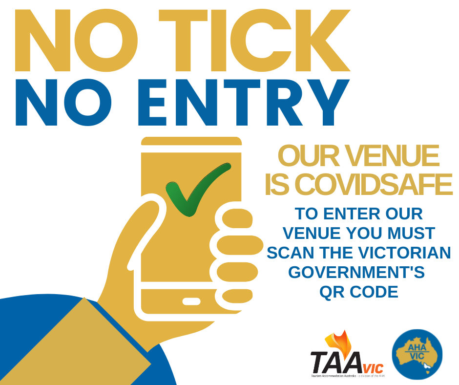 AHA no tick no entry